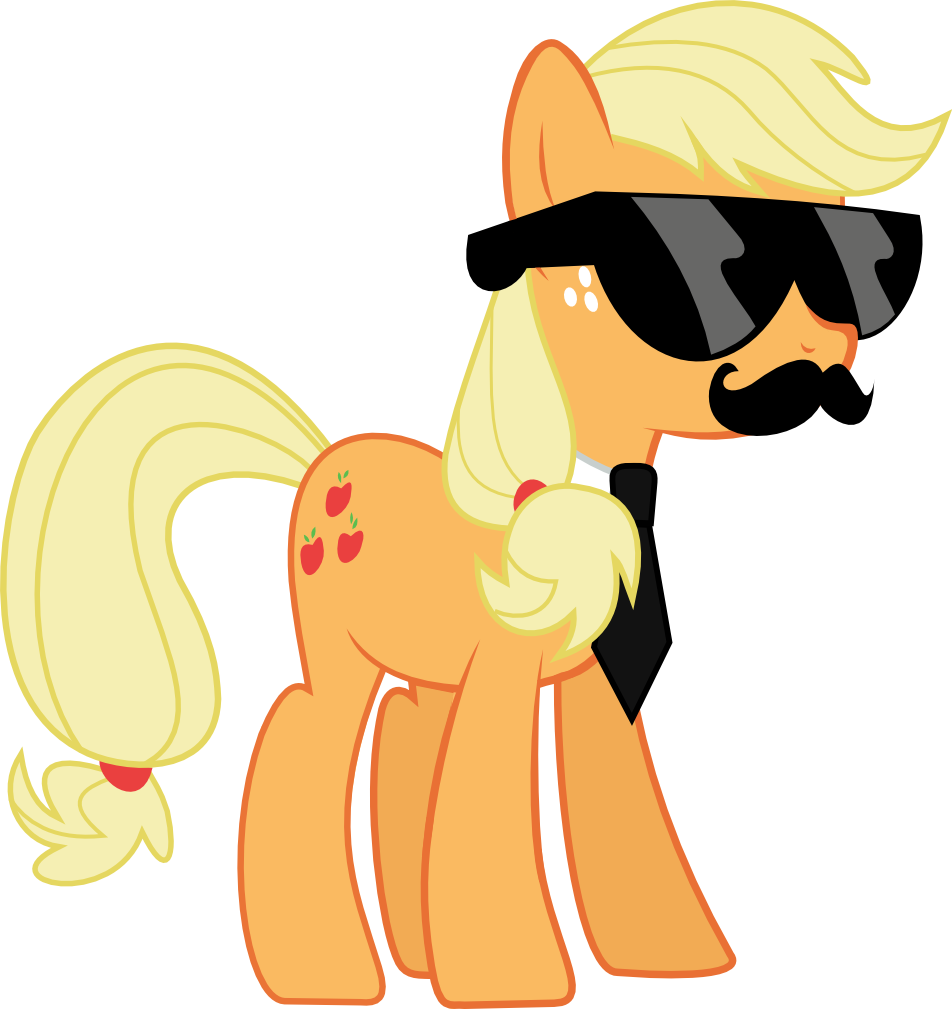 Mane Six Got Swag: Applejack by l0gun