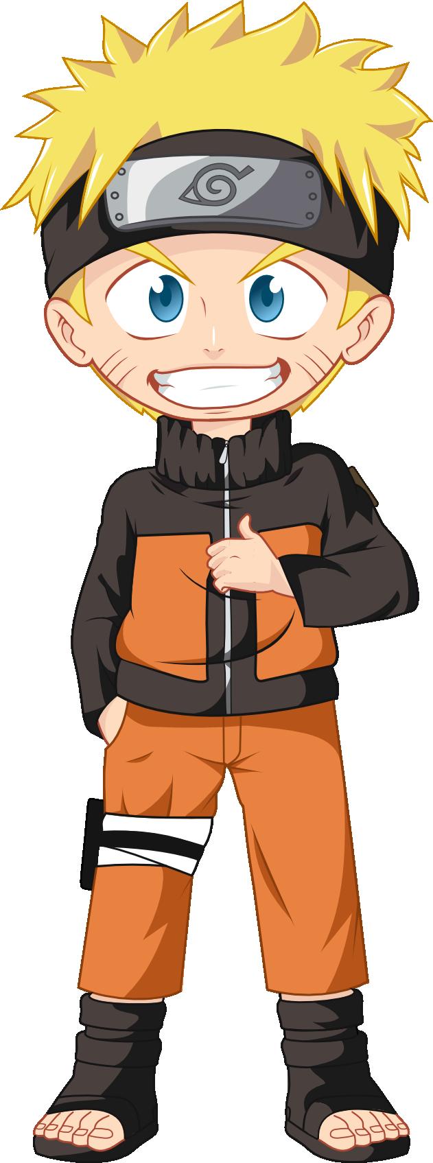 Uzumaki Naruto Chibi V.2 by l0gun