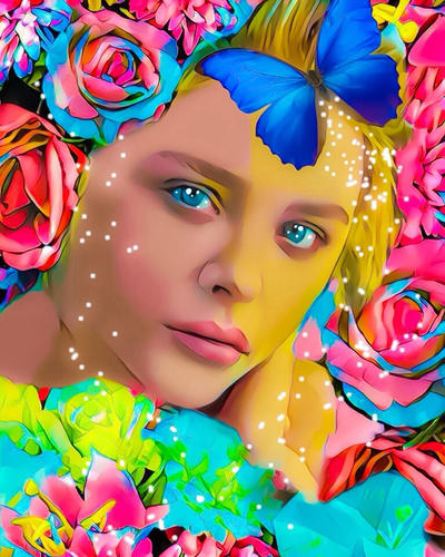 Chloe Grace Moretz Poster by TheBPriceyArts