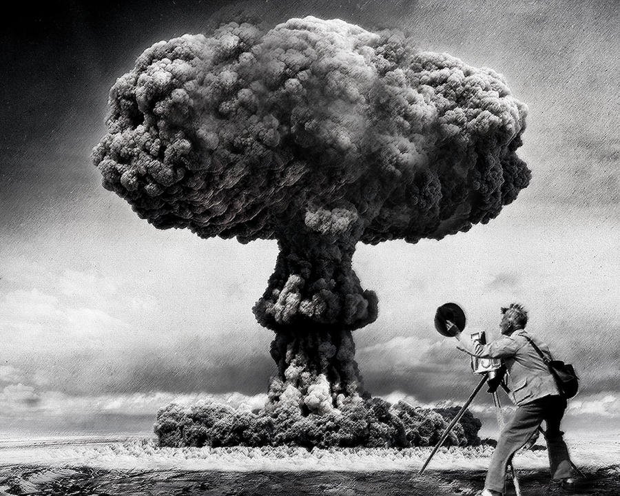 research paper atomic bomb Throughout history, improperly used science has posed a great threat to society with the development of the atomic bomb, science has unleashed the means to destroy the world and burdened future generations with its destructive presence such threats are the result of unethical science.