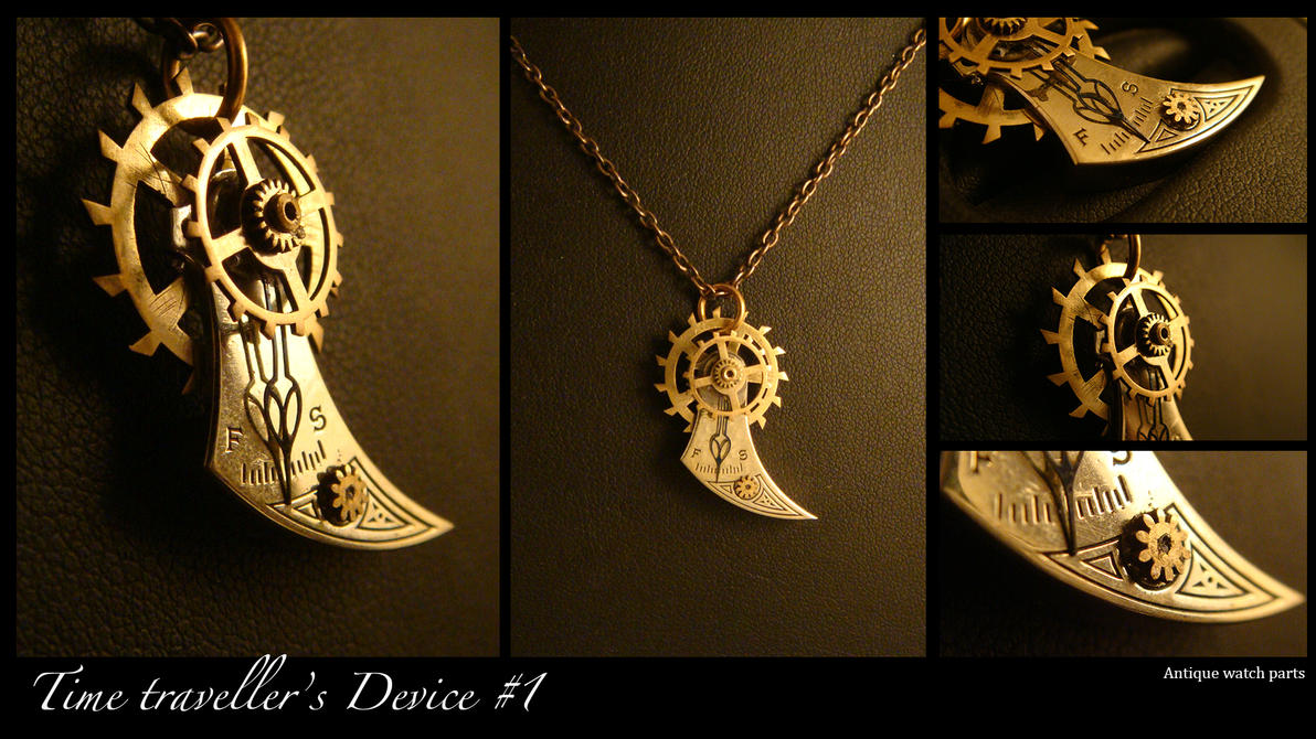 Steampunk pendant timetravellers device 1 by azazel is burning mozeypictures Gallery