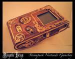 Steampunk Nintendo Gameboy Absynthe Design 7