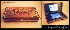 Steampunk Nintedo DS 2 by Absynthe Design