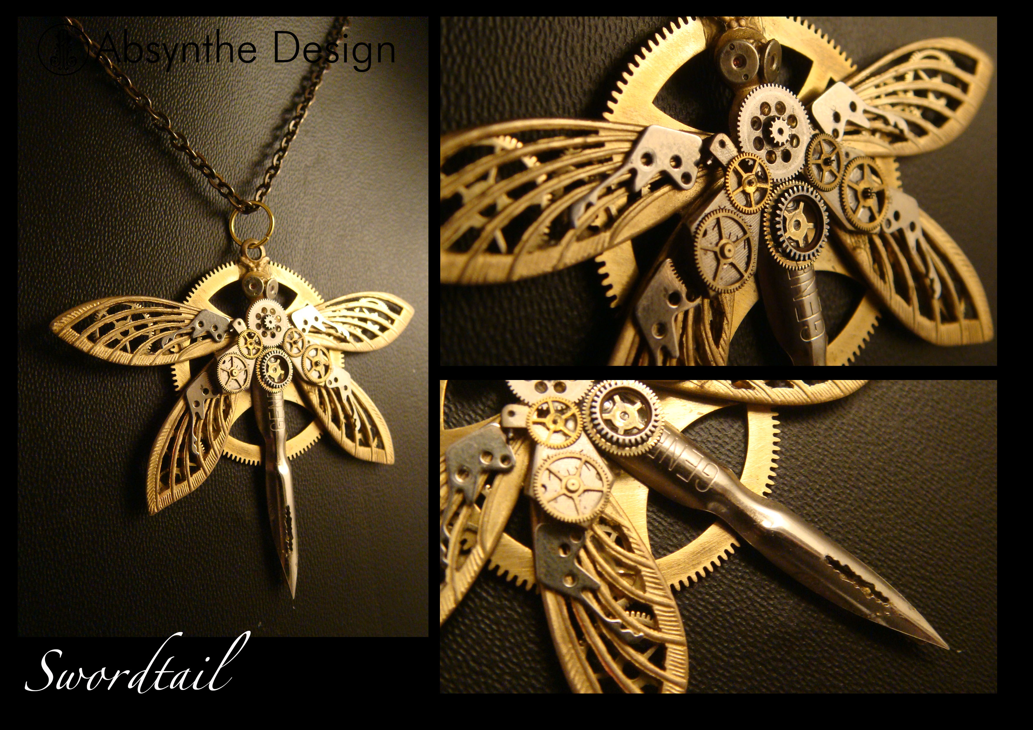 Steampunk pendant swordtail by azazel is burning on deviantart steampunk pendant swordtail by azazel is burning mozeypictures Gallery
