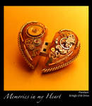Valentine's day gift: Steampunk Heart USB Drive by azazel-is-burning