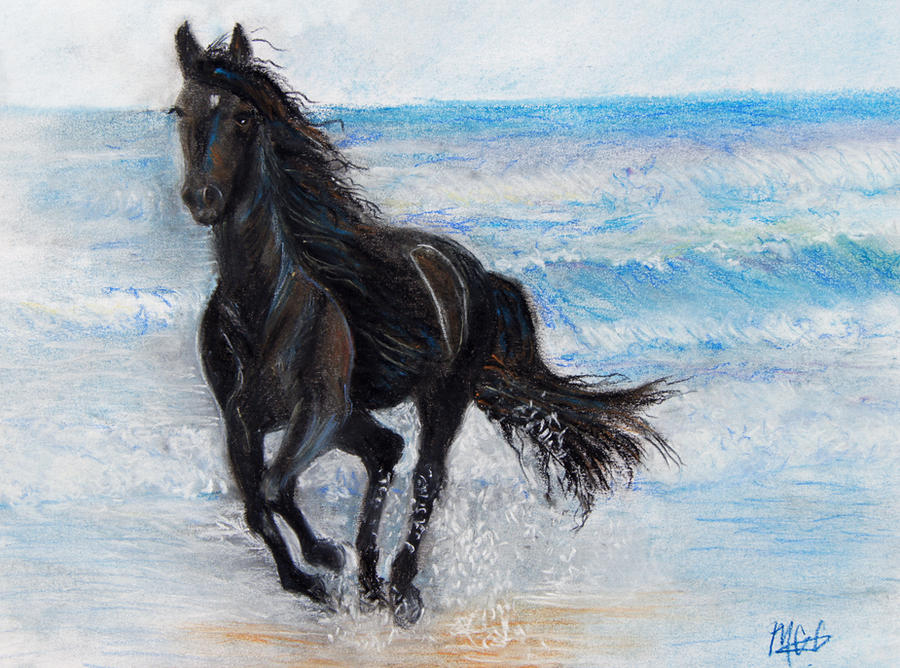 the water horse by gaabbyy on deviantart
