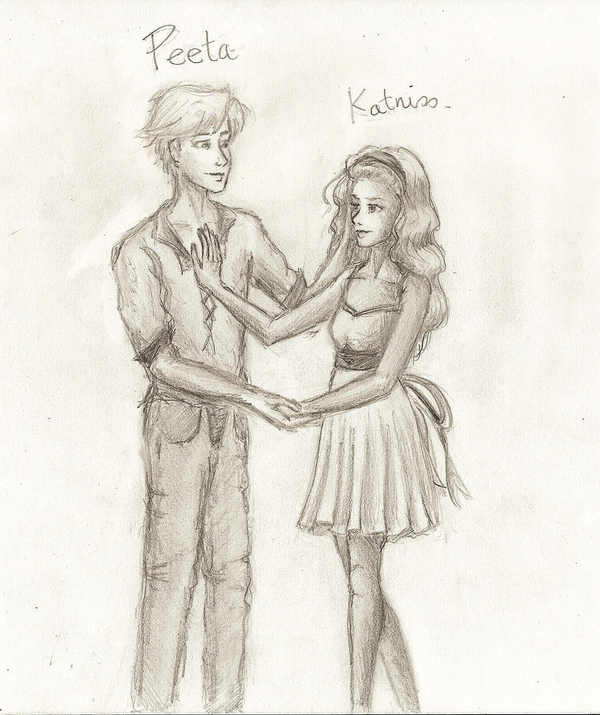 Katniss And Peeta By Gaabbyy On Deviantart