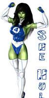 Jennifer 'Shulkie' Walters Fantastic Four