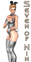 Seven of Nine Bunny
