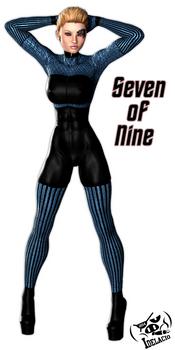 Seven of Nine Undersuit