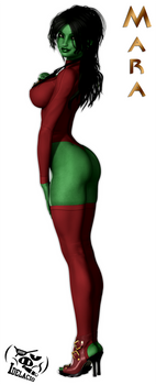 Mara 24th Century Undershirt Rear