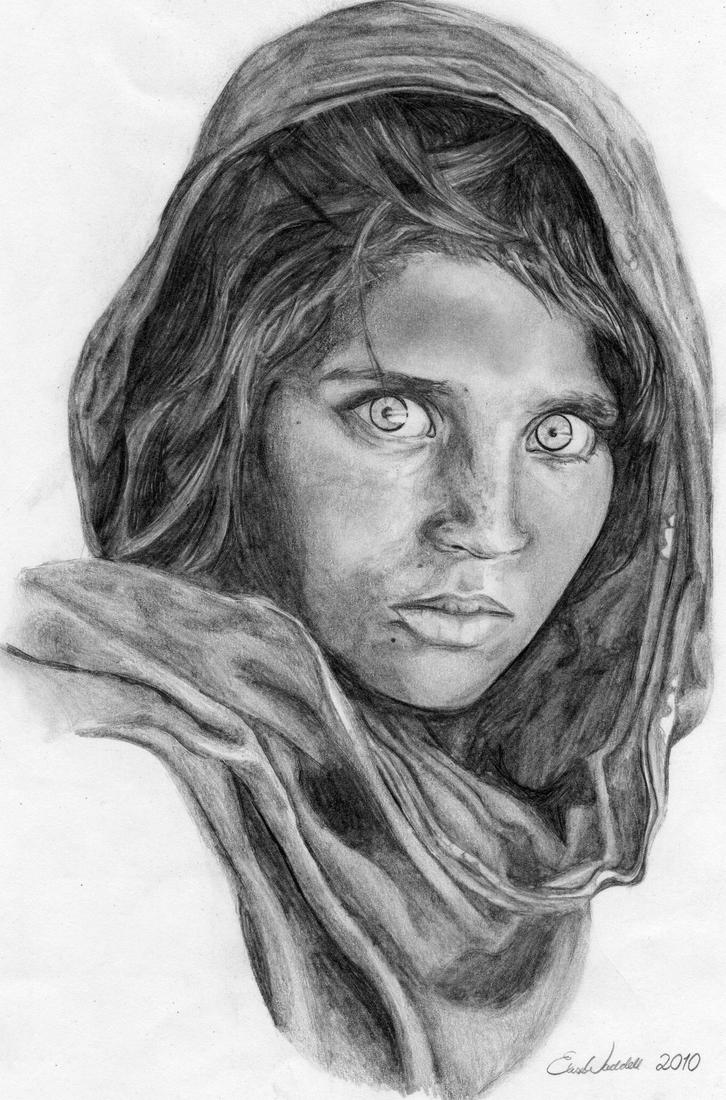 'Afghan Girl' by N00dleIncident