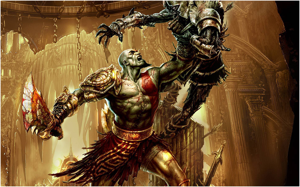 Kratos Vs Hades Wallpaper