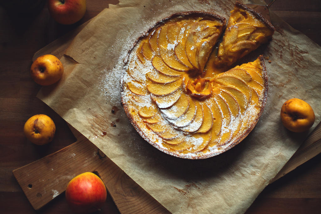 Amazing Apple Tart by spondii