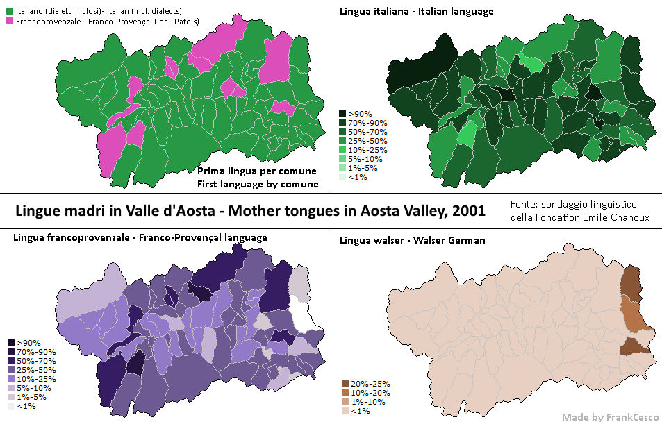 Valle D Aosta Cartina Tematica.Lingue In Valle D Aosta By Frankcesco On Deviantart