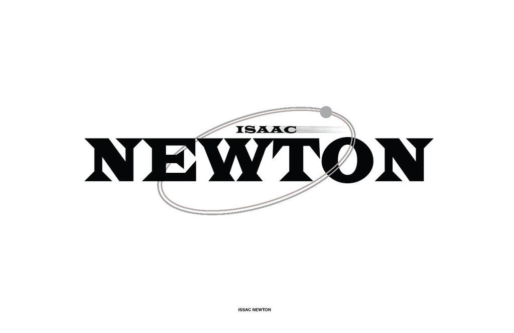 Isaac newton apple logo