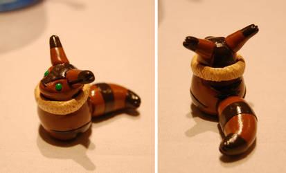 Fox Squirrel by Krissiekitteh