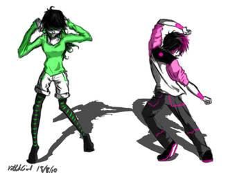 Do a little Dance. by NettikGirl