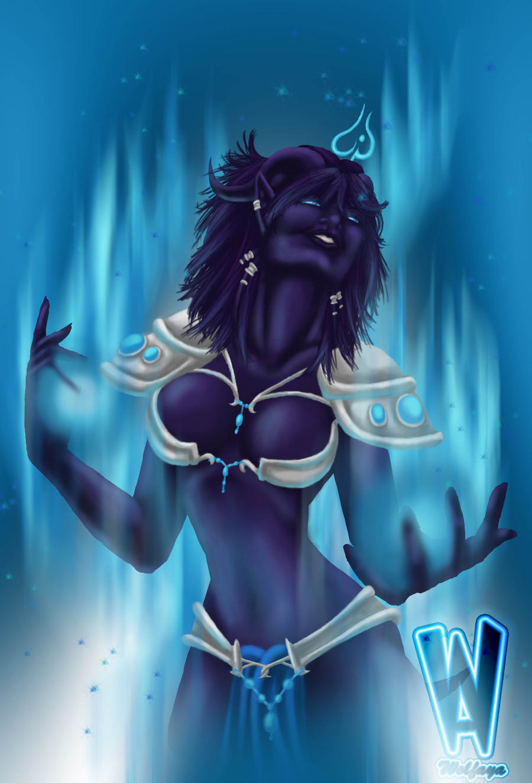 Draenei lick blood elf erotic image