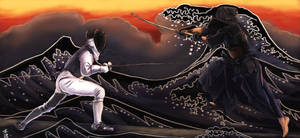 The Fencer and the Kendoka