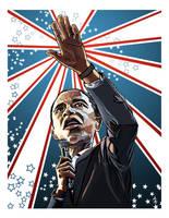 Barack Obama by zeushadesposeidon