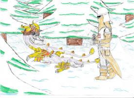 Winter patrol: Redraw by Rathaloshunter16