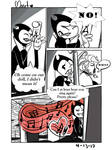 Bendy and Violetta Comic