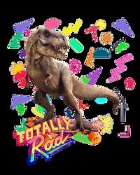 Totally rad T-rex by oXpixelpixelpixelXo
