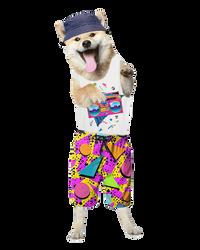 Retro Dog by oXpixelpixelpixelXo