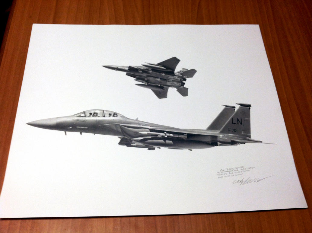 Pako's F-15E Strike Eagle Commission by Sketchh22