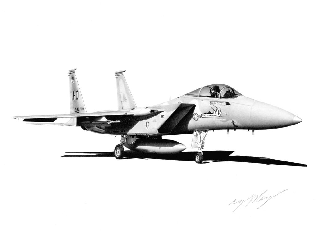 F-15A Eagle by Sketchh22