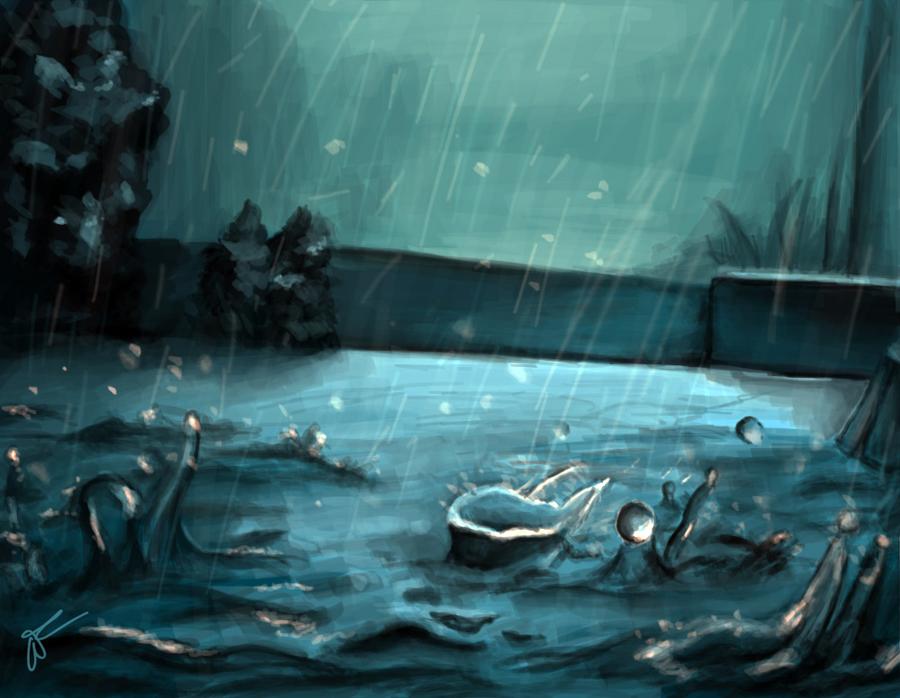 The Sound of the Rain by Malinka00
