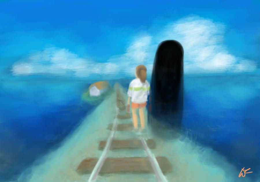 Spirited Away by Malinka00