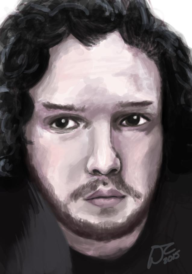 Jon Snow by Malinka00