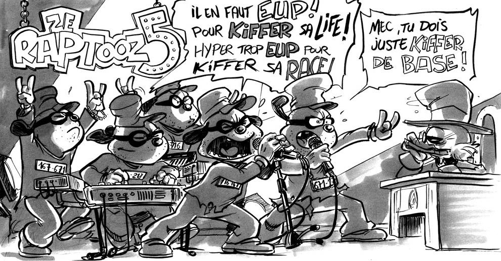 The Beagle Boys Rap Band by Chris-Yop-Lannes