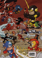 Les Petits Avengers/ Little Avengers : CIVIL WAR by Chris-Yop-Lannes