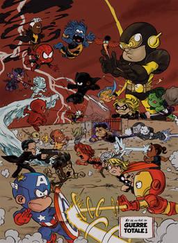 Les Petits Avengers/ Little Avengers : CIVIL WAR