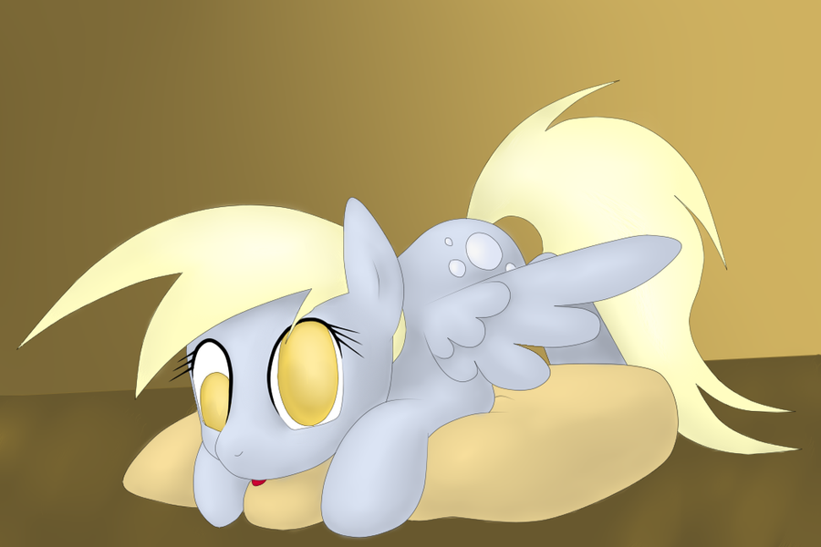 Derpy's Pillow by IDSmehlite