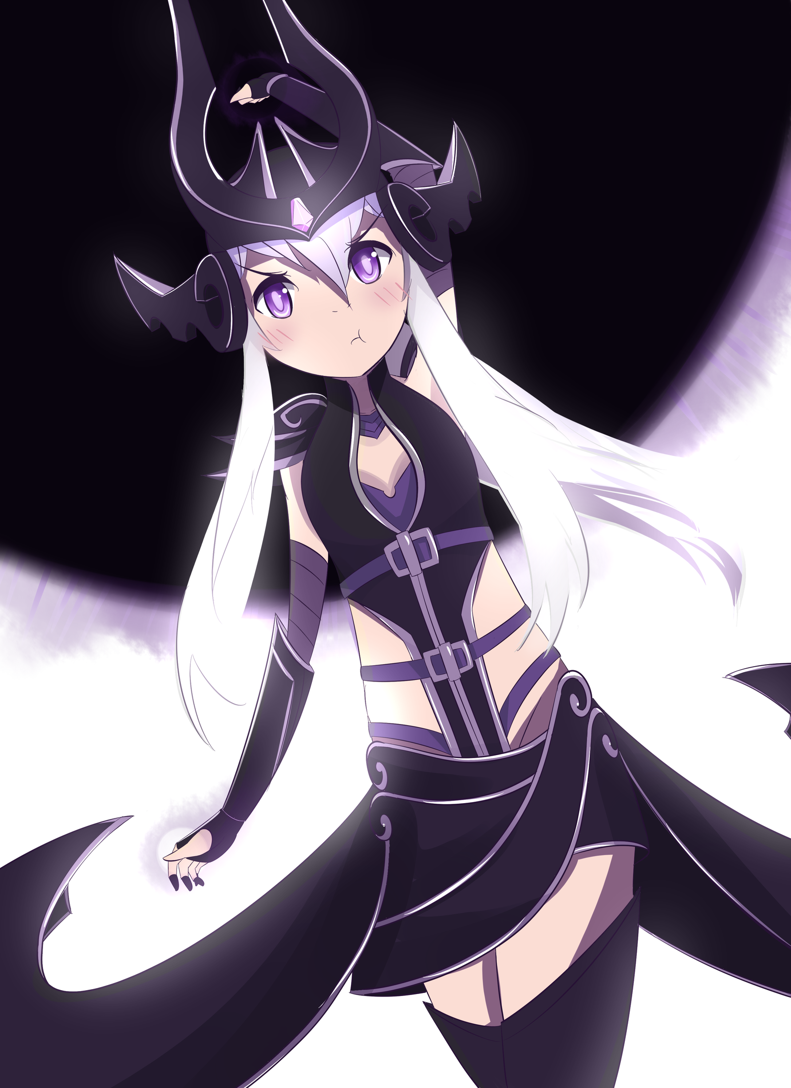 Super Massive Dark Sphere by Phibonnachee