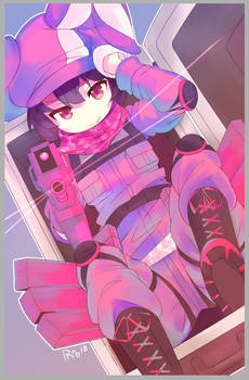 Suitcase Llenn by Phibonnachee