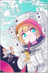 Bubble Tea in Space