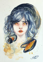 Mussels by Jickleberry