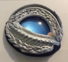 White dragon - blue eye by Isadorrah