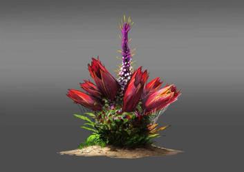 Plant Turret Concept by DjayMasi
