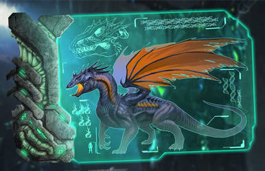 The Dragon - ARK: Survival Evolved by DjayMasi