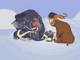 Timeless Winter - ARK Survival Evolved by DjayMasi