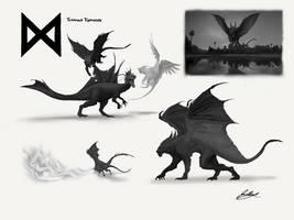 Titanus Typhon - Godzilla: KOTM Concept