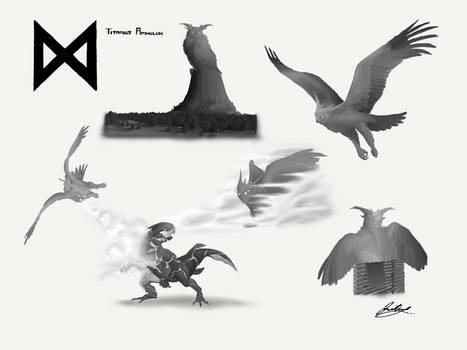 Titanus Amhuluk - Godzilla: KOTM Concept