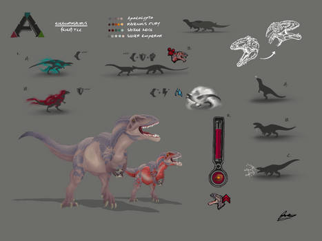 ARK TLCs - Giganotosaurus