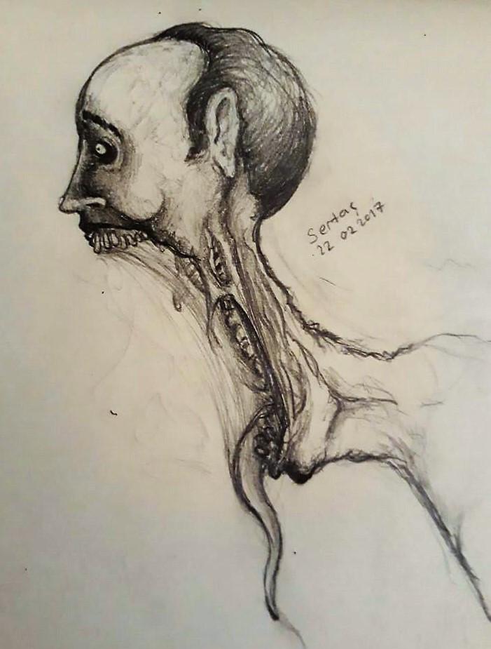 Creature Head #3 by KrulesKR